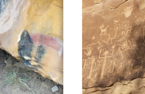 wp181 2 paint, petraglyphs